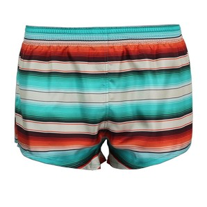 DARKHINY(ダークシャイニー) Men's Silk Trunks -STRIPE Orange