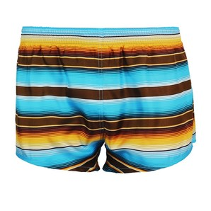 DARKHINY(ダークシャイニー) Men's Silk Trunks -STRIPE Blue