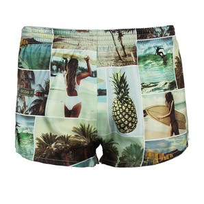 DARKHINY(ダークシャイニー) Men's Silk Trunks -SUMMER PHOTOGRAPH